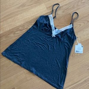 MARILYN MONROE NWT med camisole top - gray